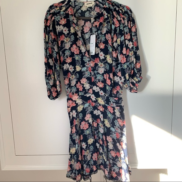 Zadig & Voltaire Floral Dress